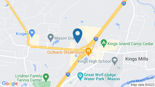 Tru by Hilton Mason Kings Island Map