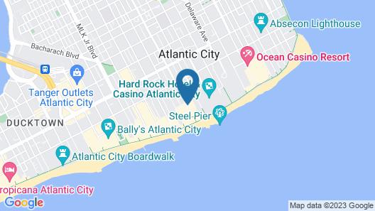 Resorts Casino Hotel Atlantic City Map