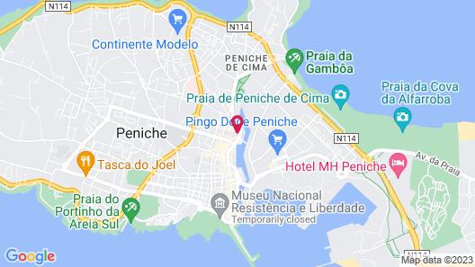 AKTION Peniche Hostel & Apartments Map