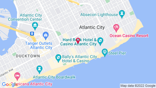 Howard Johnson by Wyndham Atlantic City Map