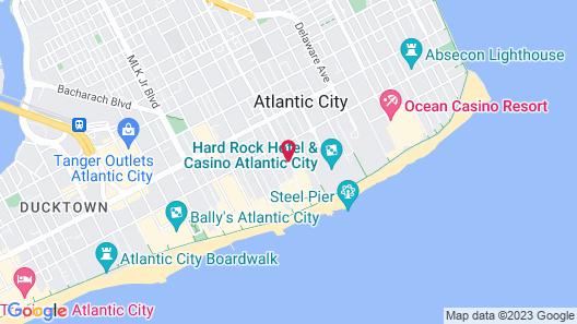 Rodeway Inn Boardwalk Map