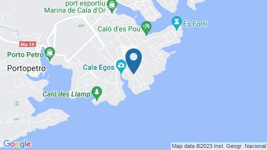 104516 -  Villa in Felanitx Map