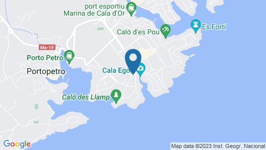 Hotel Cala d'Or Gardens Map