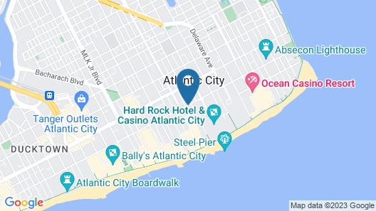 Red Carpet Inn & Suites Map