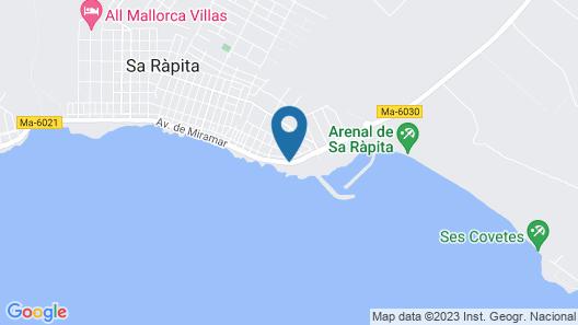 Sweet Home Sa Rapita Map