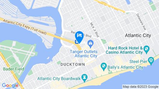 Sheraton Atlantic City Convention Center Hotel Map