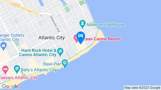 Ocean Casino Resort Map