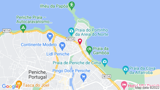 Peniche Beach House Map