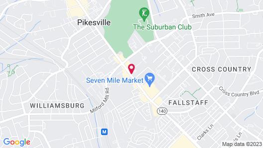 Howard Johnson by Wyndham Pikesville Map