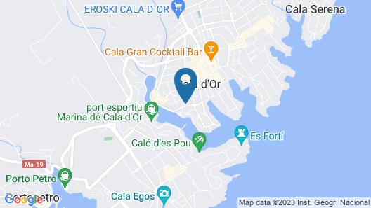 Hostal la Ceiba Map