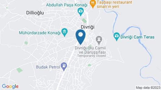 Divrigi Hotel Map
