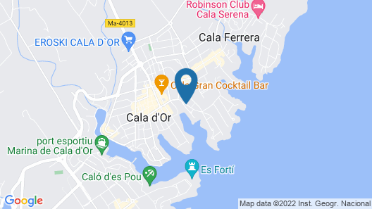 Prinsotel Alba Map