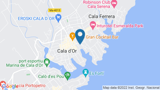 Apartment - 2 Bedrooms with Pool and Sea views - 104919 Map