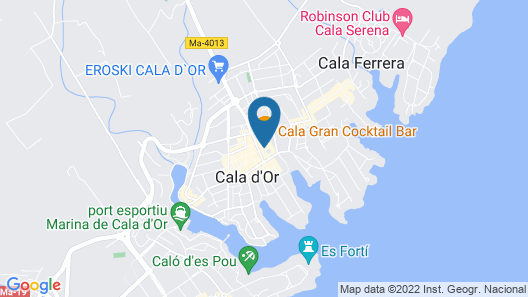 Sentido Fido Tucan - Adults Only Map
