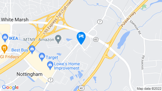 Home2 Suites by Hilton Baltimore/White Marsh Map