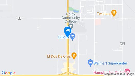 Days Inn by Wyndham Colby Map