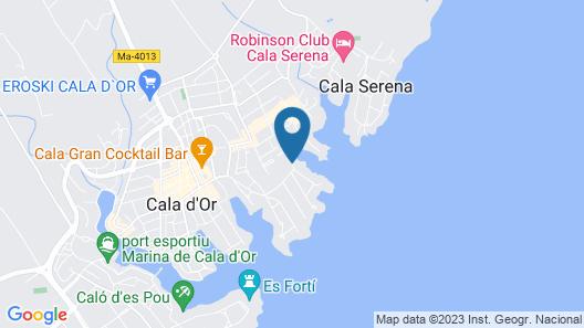 Inturotel Cala Esmeralda Beach Hotel & Spa - Adults Only Map