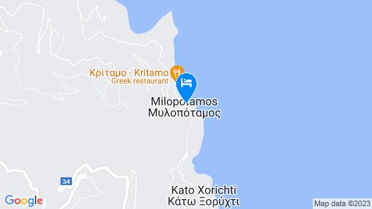 Pilio Sea Horizon hotel Map