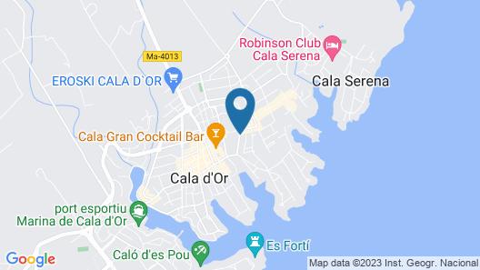 Apartamentos Cala d'Or Park Map