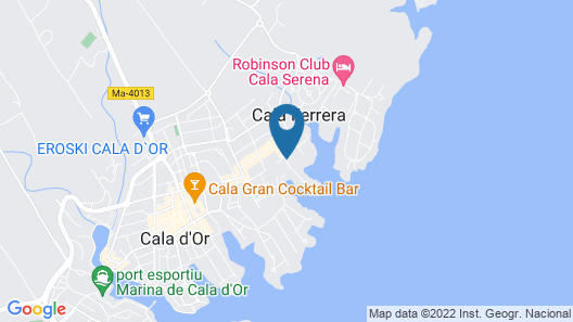Inturotel Cala Azul Map