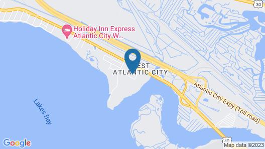 Oh St Joseph Resort Hotel Map
