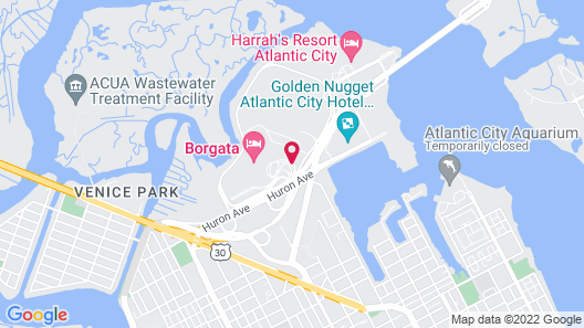 Borgata Hotel Casino & Spa Map