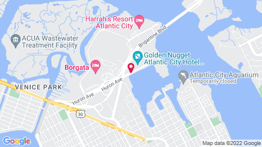 Golden Nugget Map