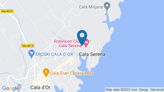 Apartamentos Ferrera Beach Map