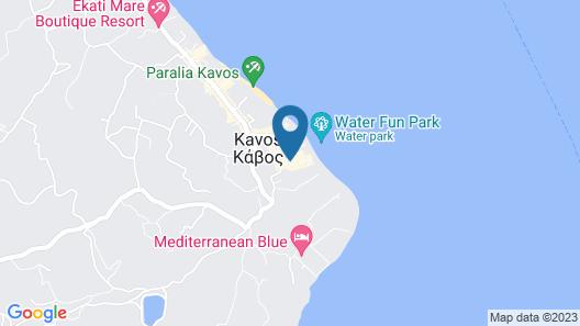 Konstantina Apartments Map