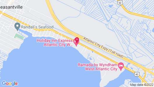 Holiday Inn Express Atlantic City W Pleasantville, an IHG Hotel Map