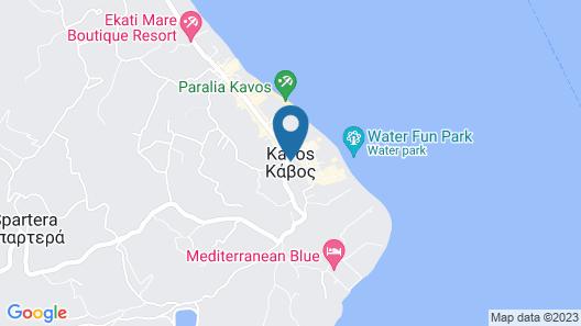 Trabukos Beach Complex Map