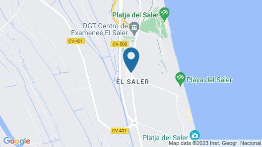 You & Co. Saler Beach Boutique Map