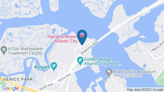 Harrah's Resort Atlantic City Map