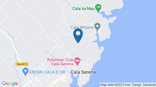 Casa Huerta Map