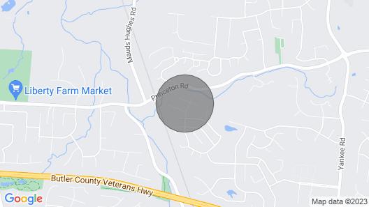 Suburban Sanctuary! Convienient to Cincinnati and Dayton Map
