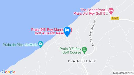 Praia D'El Rey Marriott Golf & Beach Resort Map