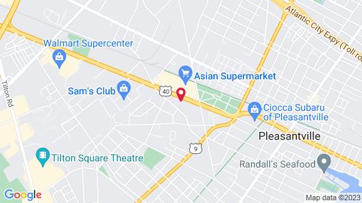 Homestead Apart-hotel NJ Map