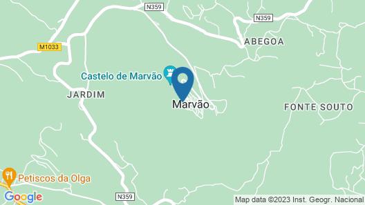 Dom Dinis Marvão Map