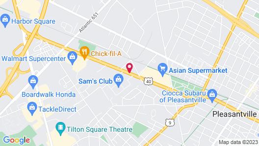 Quality Inn Pleasantville Map