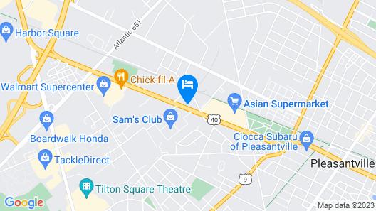 Quality Inn Pleasantville - Atlantic City South Map