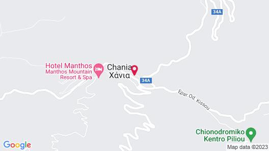 To Chani Tou Kokkini Map