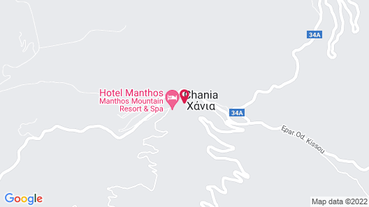 Hani Zisi Hotel Map