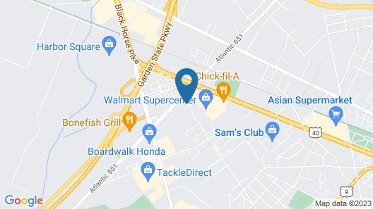 Residence Inn Atlantic City Airport Egg Harbor Township Map