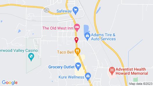 Lark Motel Map