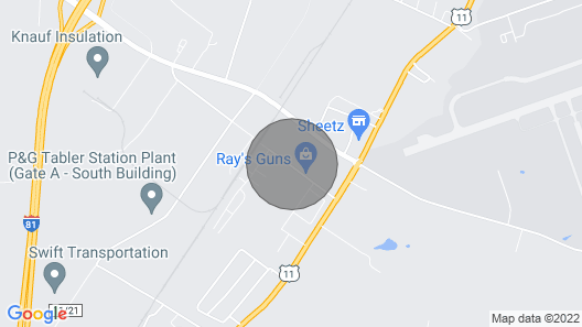 Cozy House, Quiet Neighborhood, Close to Historic Sites and Business Park Map
