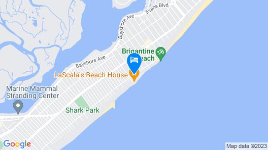 Legacy Vacation Resorts Brigantine Beach Map