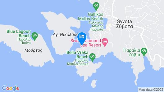 Domotel Agios Nikolaos Suites Resort Map