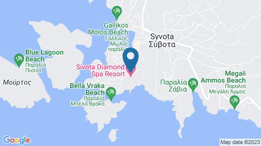 Sivota Diamond Spa Resort Map
