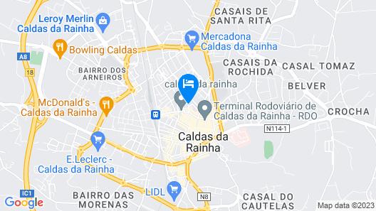Hotel Cristal Caldas Map
