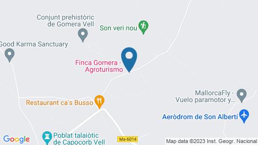 Finca Gomera, Luxury Country House Map